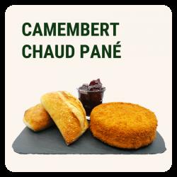 CAMEMBERT CHAUD PANÉ &...