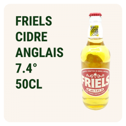 FRIELS 50CL - Cidre anglais...