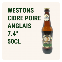 WESTONS PEAR 50CL - Cidre...