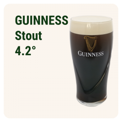 GUINNESS PRESSION - Brune...