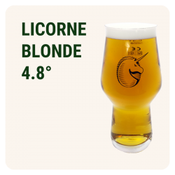 LICORNE PRESSION - Blonde...