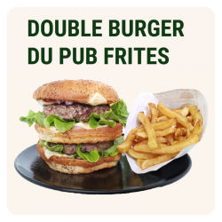 DOUBLE BURGER DU PUB &...